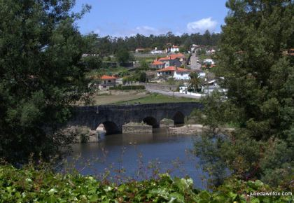 Ponte D. Zamiro near Vilarinho in northern Portugal