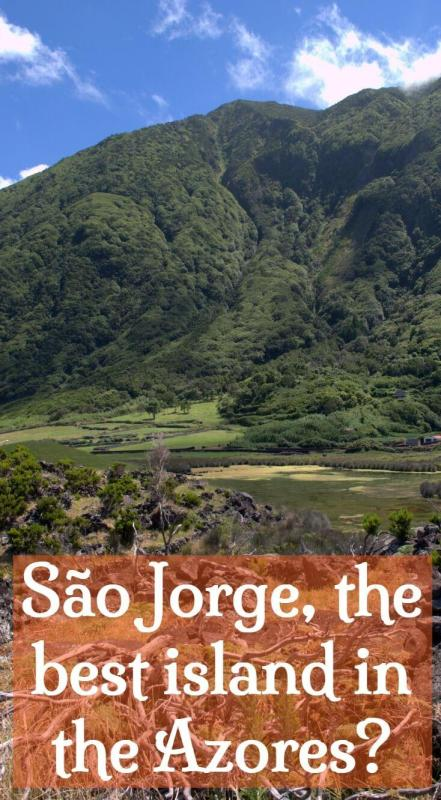 São Jorge island. The best of the Azores