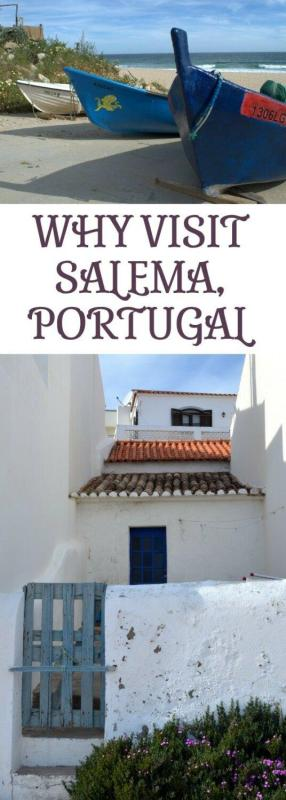 Why visit Salema, a traditional fishing village in a nature reserve in western Algarve, Portugal