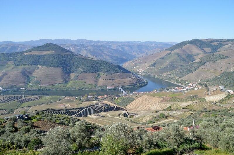 View from Casal de Loivos in April