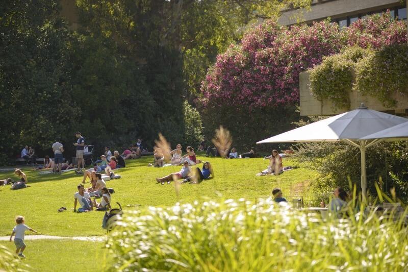 Gardens, Gulbenkian, Lisbon
