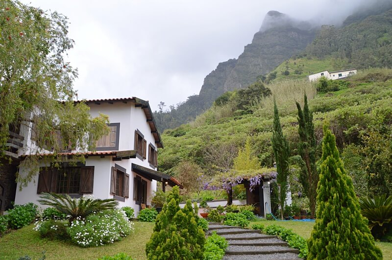O Refugio accommodation in São Vicente, Madeira