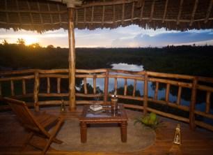 Sunset Balcony View
