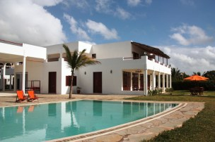Pool and main building