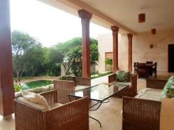 verandah to cottage