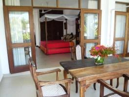 verandah to bed