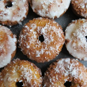 Sweet potato doughnut