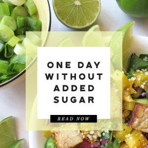 no added sugar prediabetes