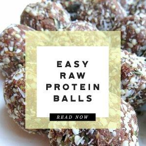 raw protein ball prediabetes