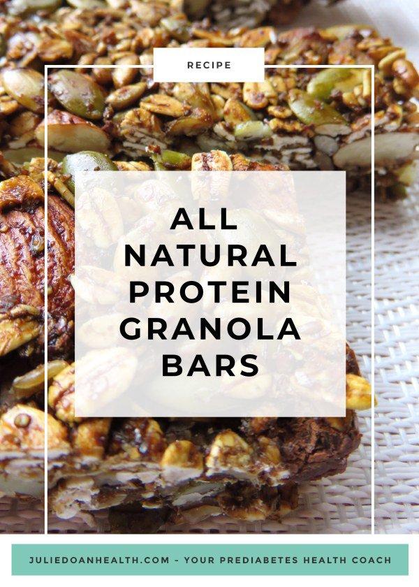 granola bar reverse prediabetes diabetes