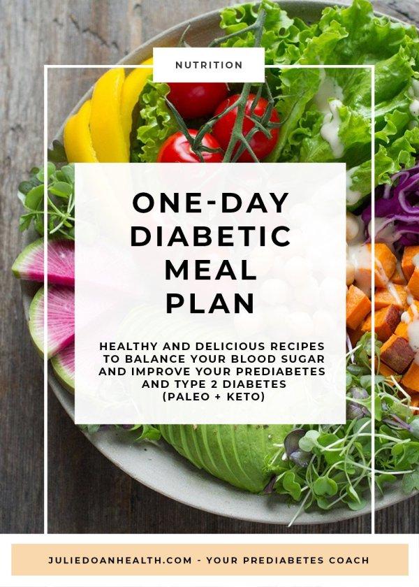 meal plan diabetes prediabetes recipes