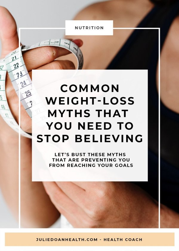 common weight-loss myths
