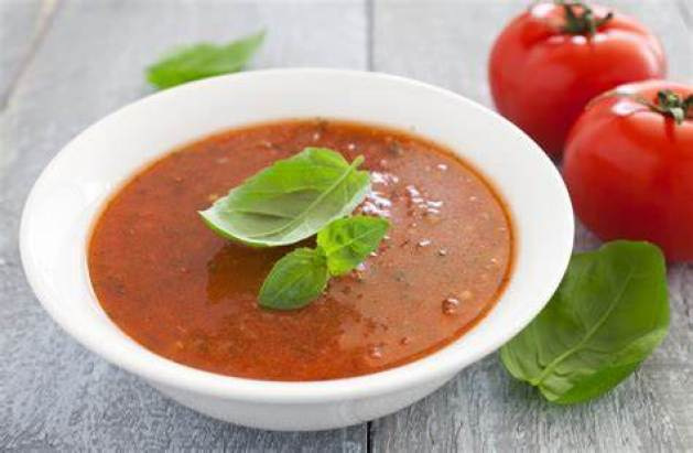 Baked Tomato & Basil Soup: Yummy & Good for You!