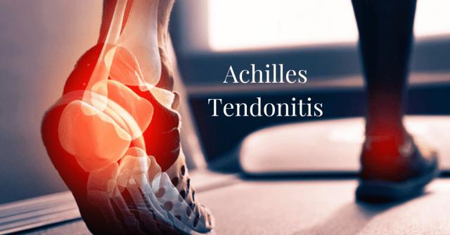 Achilles Tendonitis Joint Pain