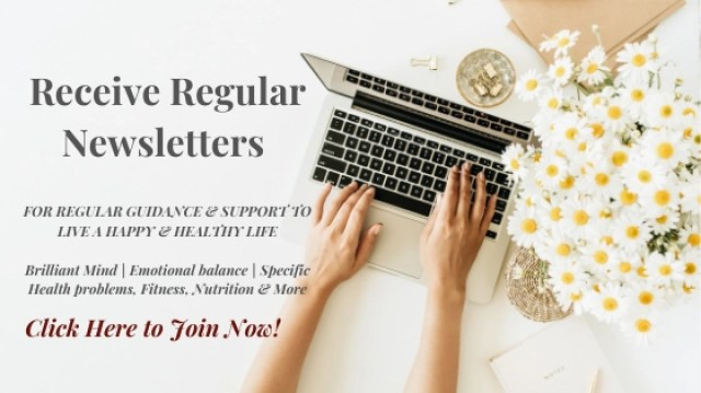 Receive Regular Newsletters for Guidance & Support in Achieving Optimal Health
