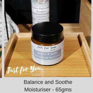 Balance and Soothe Moisturiser