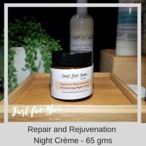Just for You by Julie Repair and Rejuvenation Night Creme