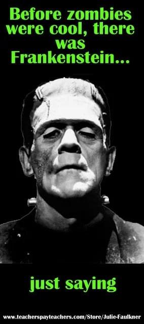 Frankenstein Movie Unit Plan