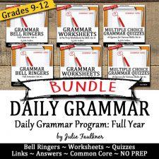 grammar bundle full year