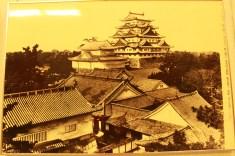 Nagoya castle in the olden times.