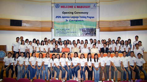 Opening Ceremony at TESDA