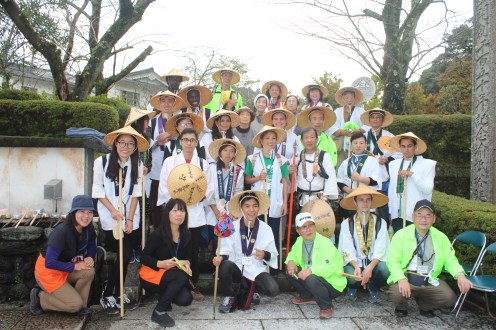 We were pilgrims for a day. Thanks to the organizers of the this event and the staff.