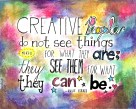 creative people quote