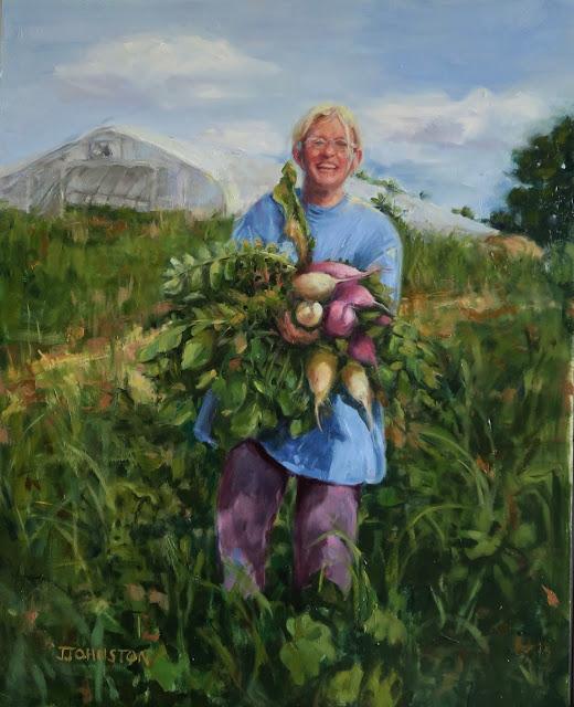 Whitewater Gardens farmer Sandy Dietz