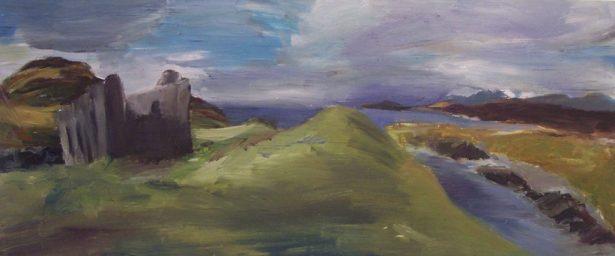 Coast and Derelict, Islay by Julie Jones