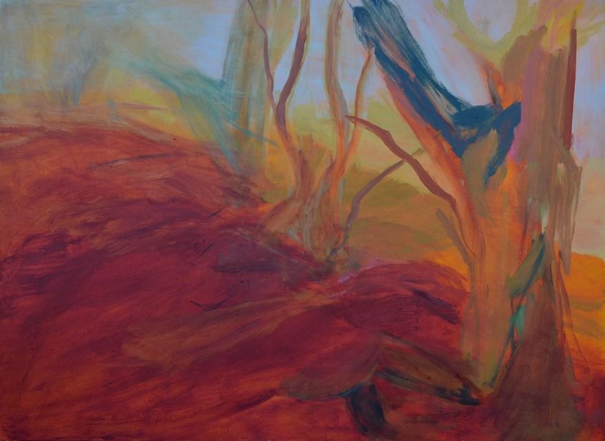 Tree at Edge by Julie Jones