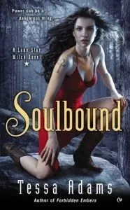 Soulbound urban fantasy by Tessa Adams cover