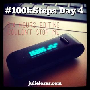100k Steps Day 4
