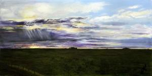 Stoney Skies v2 | Oil on Canvas by Julie Lovelock