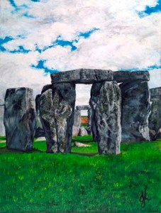 The Henge | Oil on Canvas by Julie Lovelock