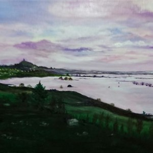 The Waters Rise | Oil on Canvas by Julie Lovelock