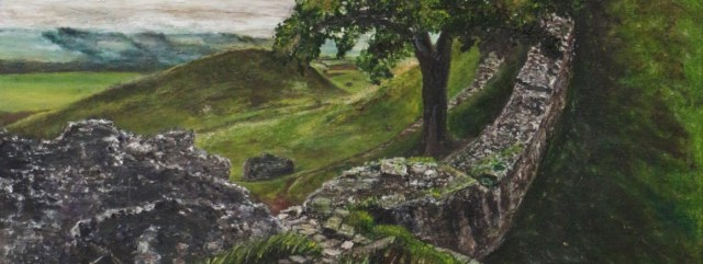 Extract from The Mighty One an original oil by Julie Lovelock