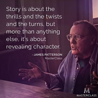 Master James Patterson 2016