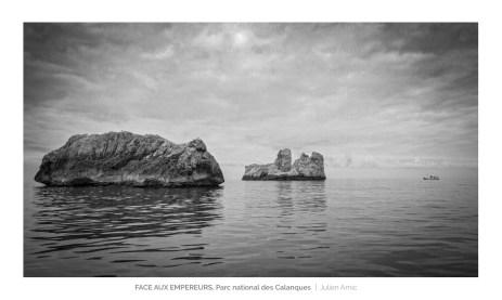Face aux Empereurs, archipel de Riou, Julien Amic