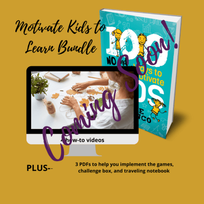 how to motivate kids to learn book and video bundle