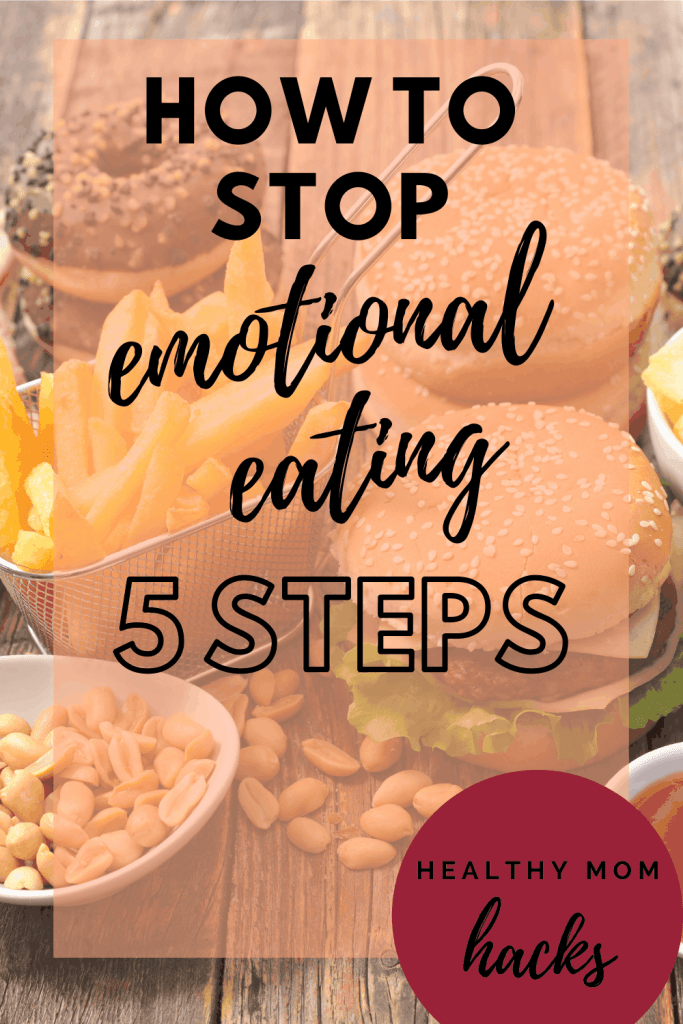 how to stop emotional eating of donuts, fast food, and other junk food