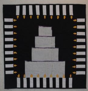 36th Birthday journal quilt