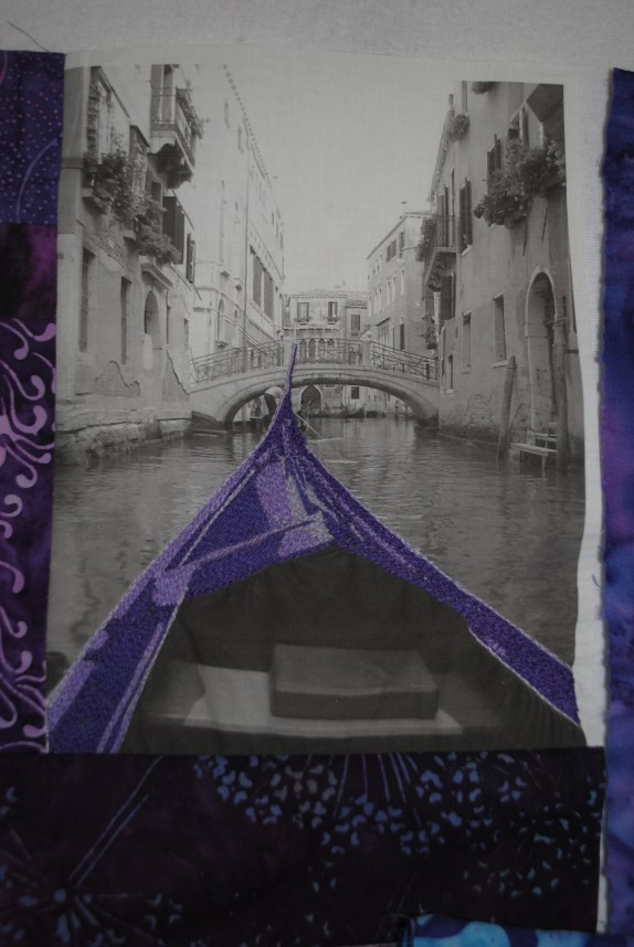 Gondola Thread Painting