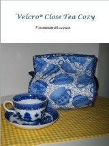 Julie Neu velcro close tea cozy pattern PDF
