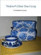 Julie Neu velcro close tea cozy pattern PDF