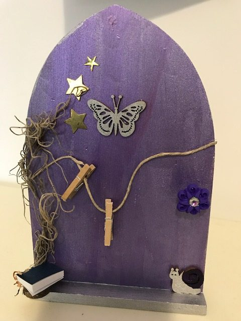 JulieNeu_ purple fairy door