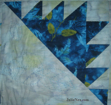 Delectable Mountains Quilt Block
