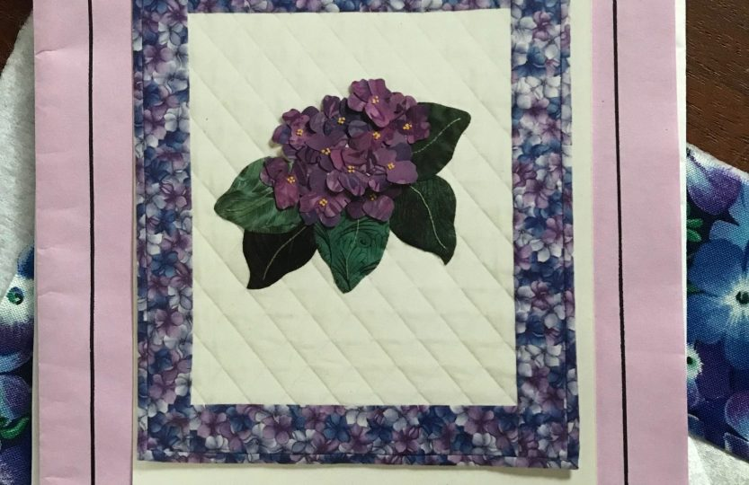 Joan Shay's African Violet Pattern