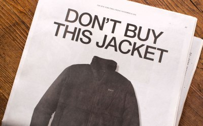 """Don't buy this jacket""​. Le branding de Patagonia à travers son appel anti-consumériste pour le Black Friday 2011. Etude de cas."