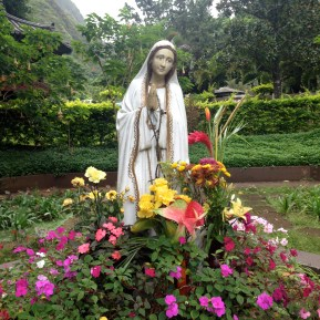 Day 1: Mother Mary in the Kepaniwai Park's Heritage Gardens