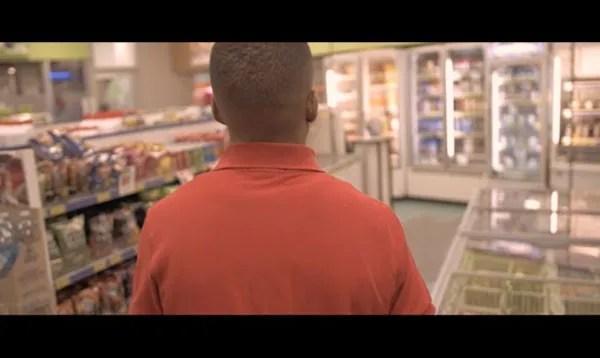 Scene at a convenience store